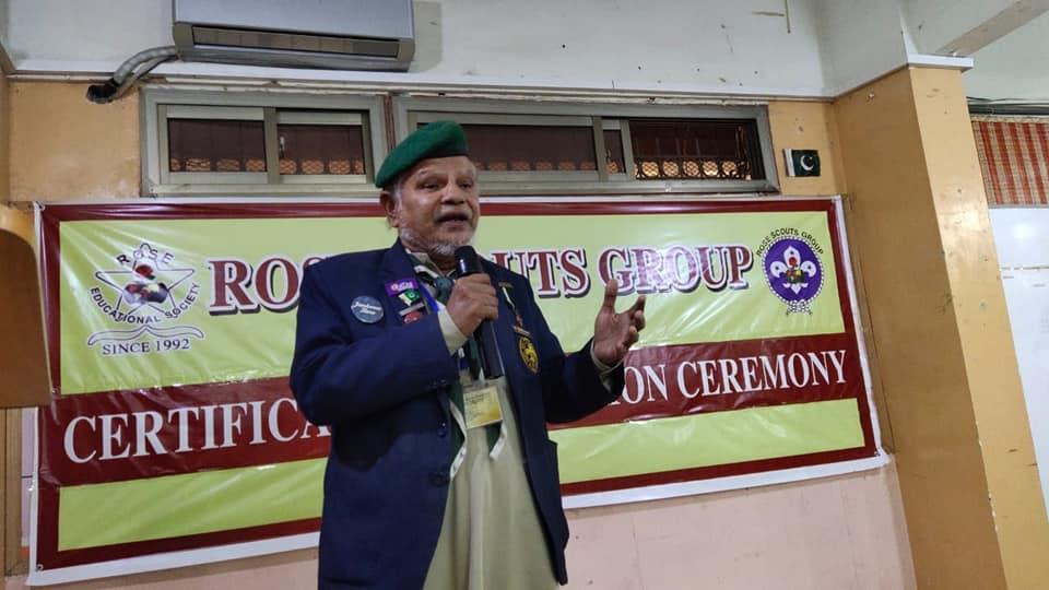 Distribution Certificate Scott Training Camp Quetta