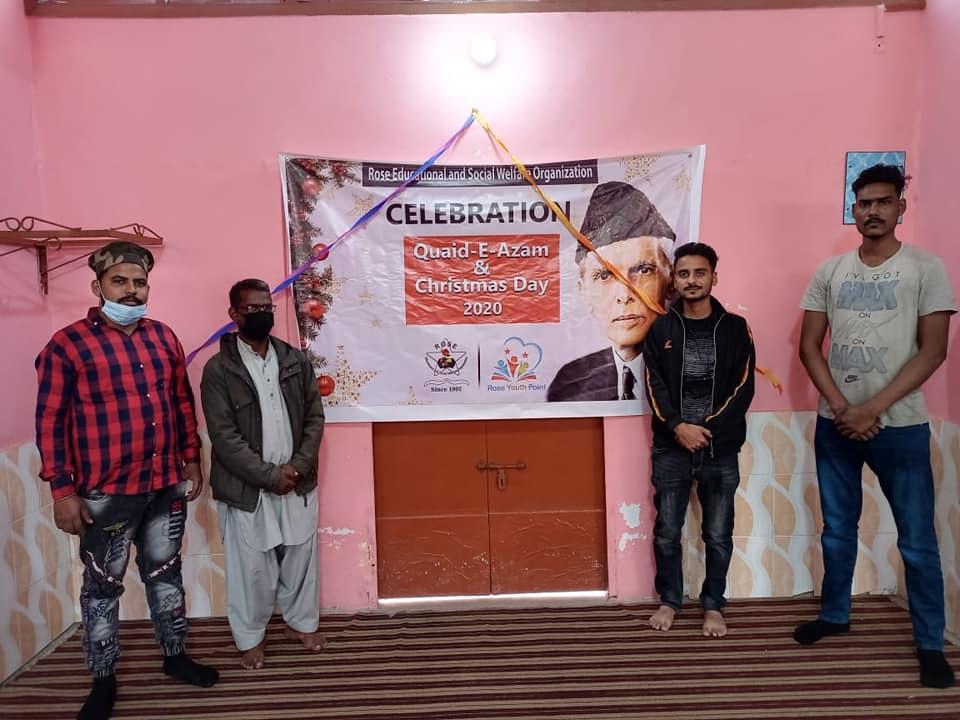 Program of  Christmas Celebration & Quaid E Azam Day