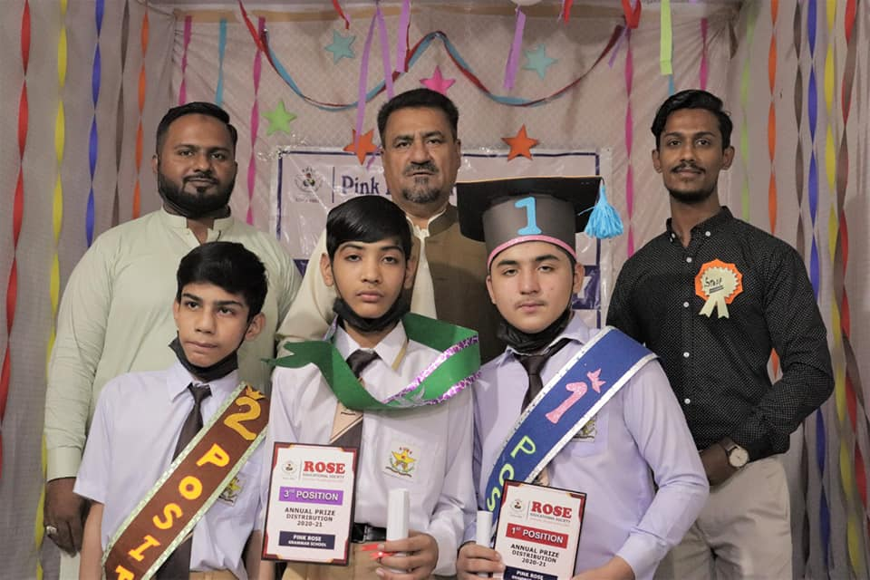 Rose Educational Society has announced Annual Result in all the branches, the 2nd day of Annual Result Day has been arranged in 22 branches of Rose Educational Society and distributed Shields to Position Holders.