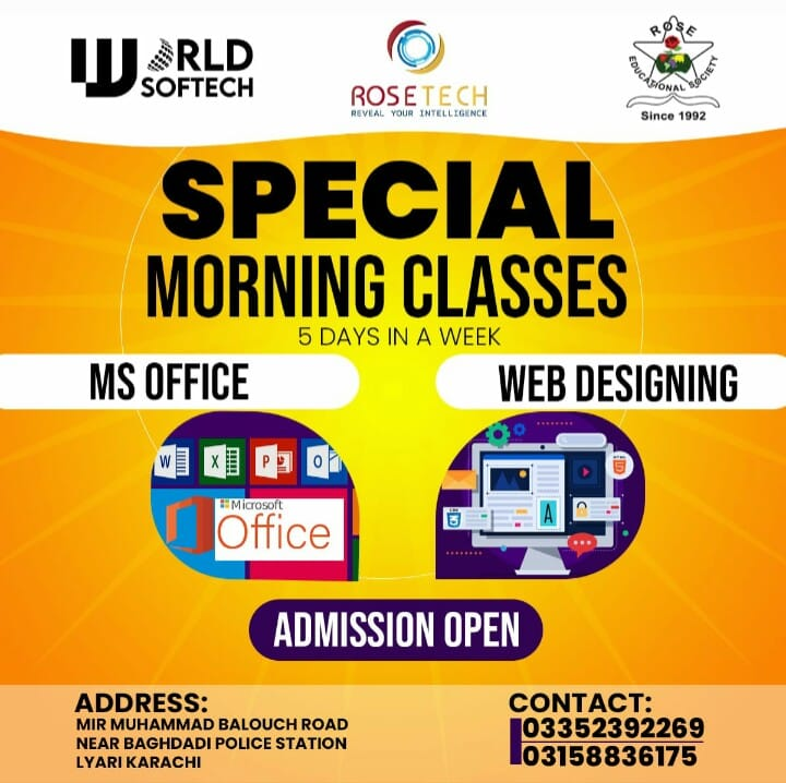 Special Morning Classes
