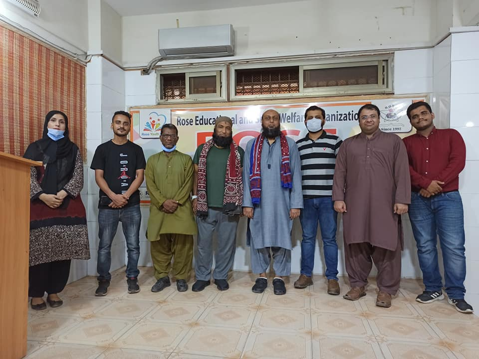 Today Representatives from YAQEEN EDUCATION FOUNDATION Mr Shahabuddin and Mr Adil Aziz visited Rose Youth point Regarding Zimedaari Samjho a project of ROSE EDUCATIONAL AND SOCIAL WELFARE ORGANIZATION.